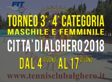 Torneo FIT 3-4 categoria tabelloni finali.