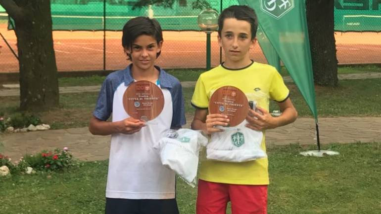 Torneo E.T.A. Trieste Lorenzo Carboni trionfa in doppio.