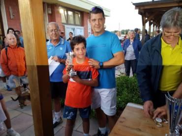 Giorgio Alias campione sardo under 12 trionfa alle Saline…