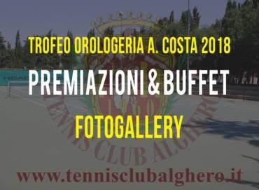 Premiazione Trofeo Orologeria A. Costa 2018