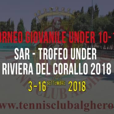 SAR – Trofeo Under Riviera del Corallo