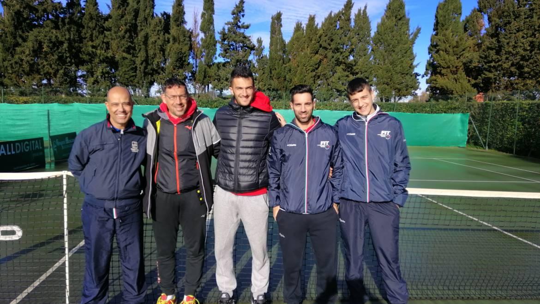 Campionato invernale maschile 2^serie tc Alghero in semifinale !!!
