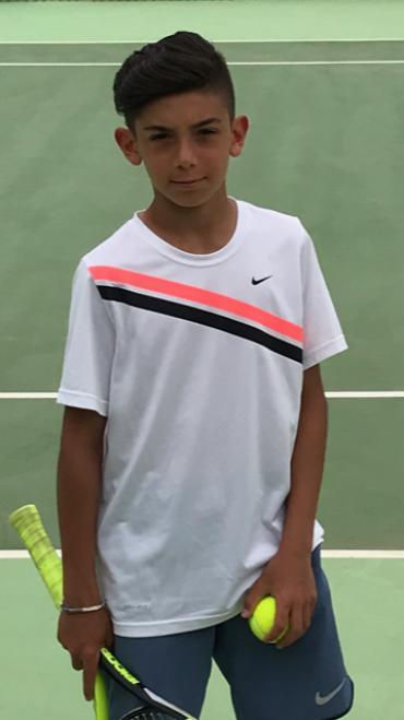 Nicolo' Serra  grande vittoria al torneo giovanile di Palau !!!