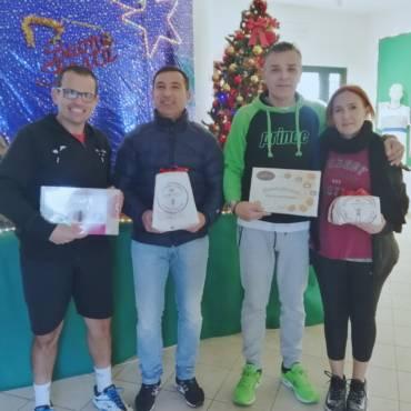 Torneo di Natale 2019 vincono Calise-Dettori (gold) e Monte-Delogu (silver).
