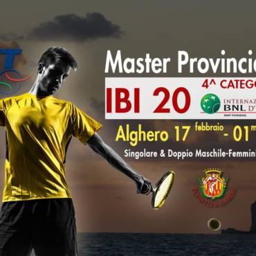 IBI 20 Master Provinciale.