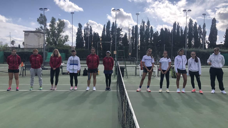 D1 femminile bella vittoria per 3/1 contro il tc Cagliari.