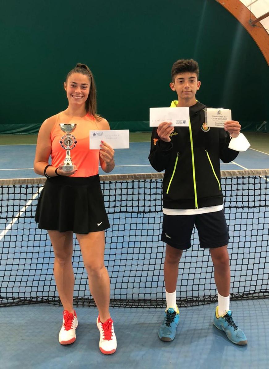 """Anastasia Ogno vince il Torneo open""""Citta' di Nuoro""""."""